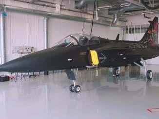 """مقاتلة Gripen Aggressor من """"ساب"""""""