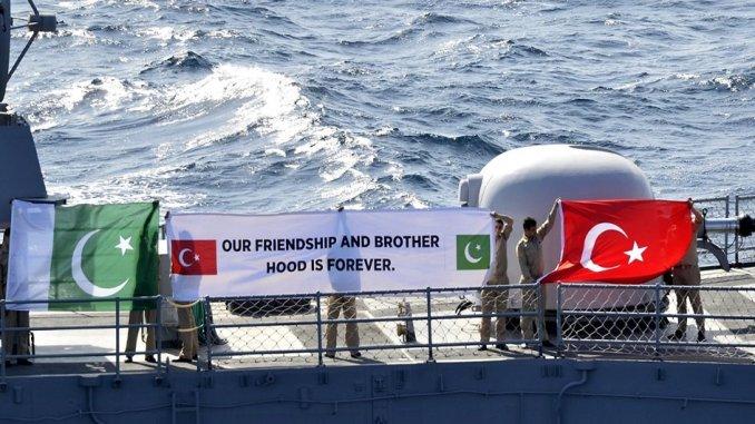 تعاون دفاعي بين تركيا وباكستان