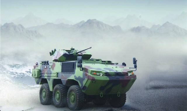مركبة ARMA سداسية الدفع التركية من إنتاج شركة أوتوكار