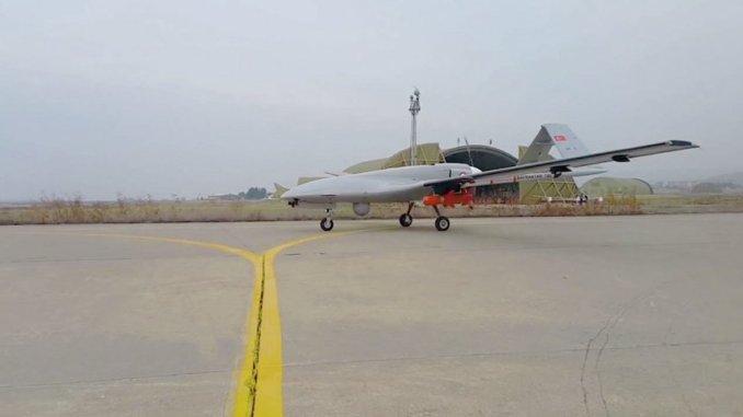 طائرة بيرقدار التركية من دون طيار