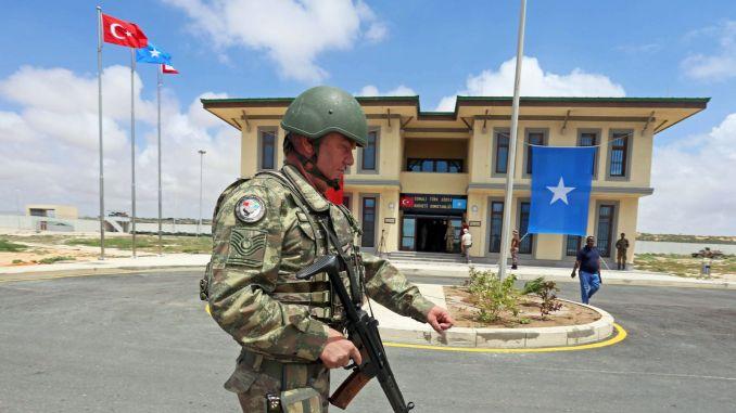القاعدة العسكرية في الصومال