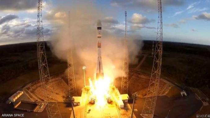 إطلاق قمر إصطناعي مغربي