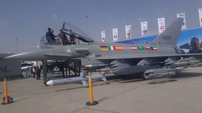 يوروفايتر تايفون من معرض دبي للطيران