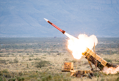 صاروخ الباتريوت