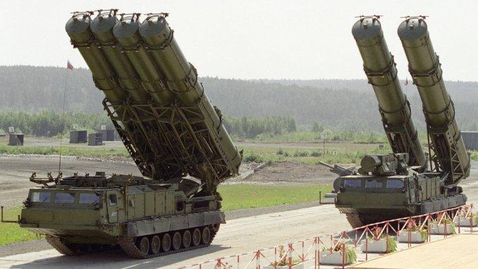 منظومتا أس-300 روسيتان