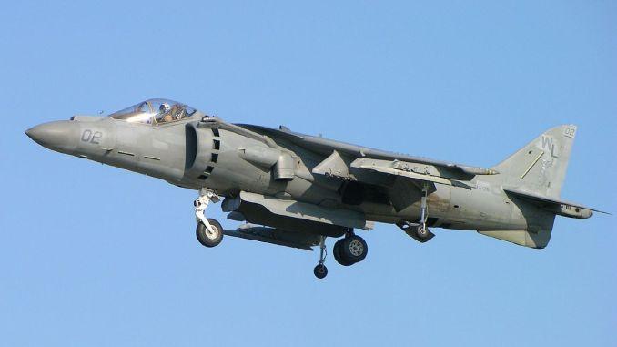 مقاتلة AV-8B Harrier الأميركية