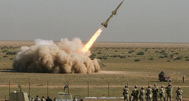 تجربة إطلاق صاروخ إيراني في موقع غير معروف في إيران