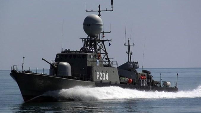 فرقاطة سبر الصاروخية التي تسلمتها إيران