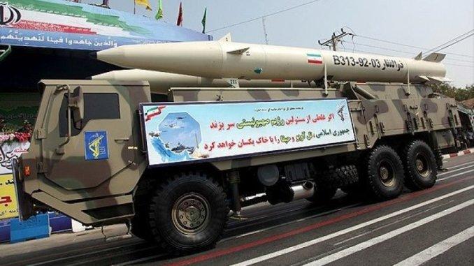 """صاروخ """"ذو الفقار"""" الإيراني"""