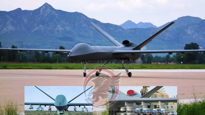 طائرة CH-5 الصينية المُسلحة غير المأهولة بعيدة المدى (بوابة الدفاع المصرية)