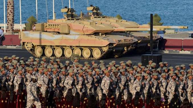 عناصر من القوات المسلحة القطرية