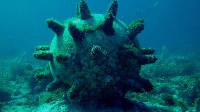 الألغام البحرية
