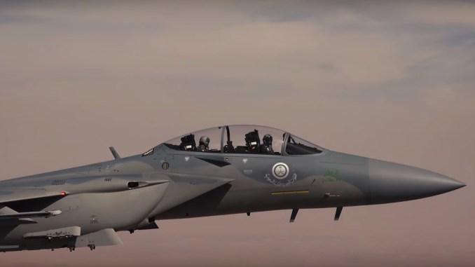 مقاتلة أف-15 أس أيه السعودية