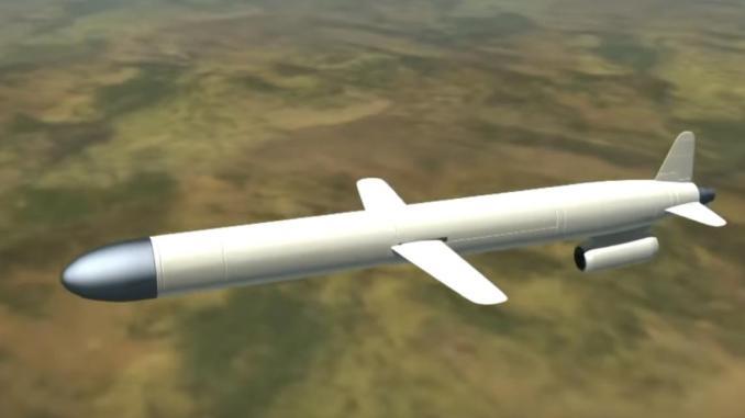 صاروخ جو- سطح روسي من طراز KH-101