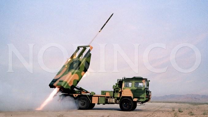 راجمة الصواريخ الصينية SR-5 (شركة نورينكو)