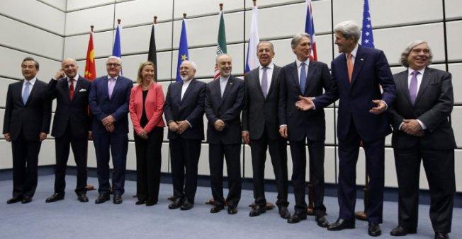 توقيع الإتفاق النووي الإيراني