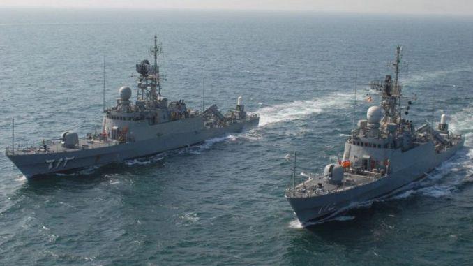 لقطة من التمرين البحري السعودي-الباكستاني المشترك (نسيم بحر -11) الذي انطلق في 11 شباط/فبراير الجاري في الخليج العربي بقاعدة الملك عبدالعزيز البحرية بالأسطول الشرقي (وكالة واس الرسمية)