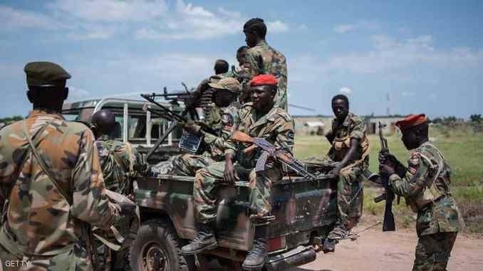 قوات مسلحة تشارك في الحرب الأهلية السودانية