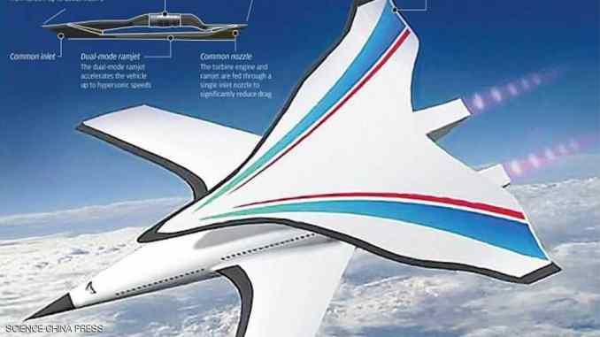 نموذج تصويري عن قاذفة القنابل الصينية الجديدة (سكاي نيوز عربية)