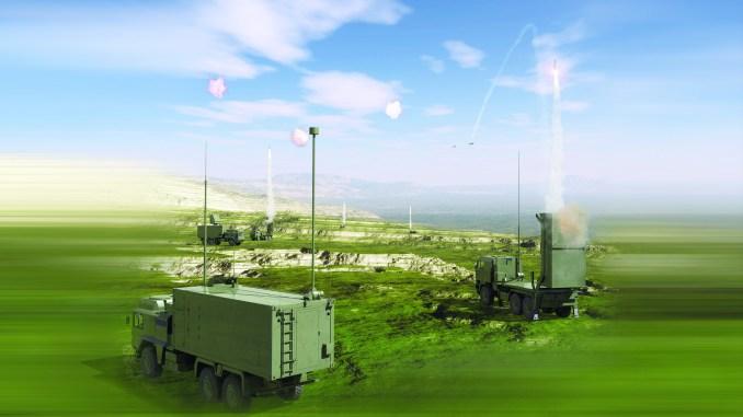 صورة توضيحية عن نظام VL MICA (شركة MBDA)