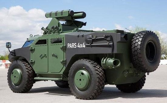 عربة برج مضادة للدبابات التركية