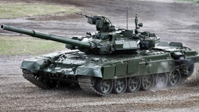 دبابة روسية من طراز تي-90 (صورة أرشيفية)