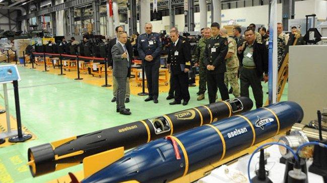 صواريخ ذكية من إنتاج شركة أسلسان التركية (صورة أرشيفية)