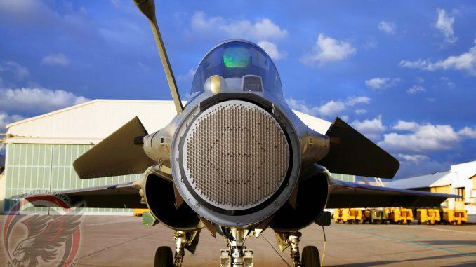 """رادار AESA RBE الخاص بالمقاتلة الفرنسية """"رافال"""" (بوابة الدفاع المصرية)"""