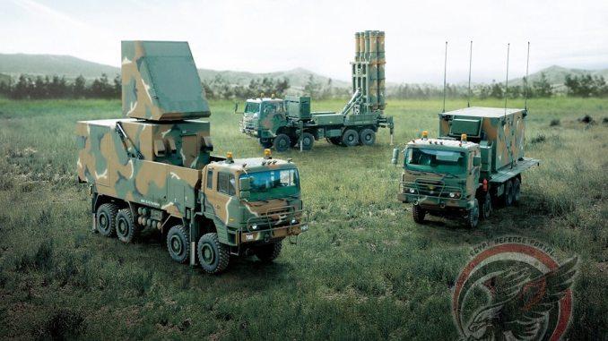 نموذج عن منظومات الدفاع الجوي طراز KM-SAM الكورية متوسطة المدى (وزاة الدفاع المصرية)