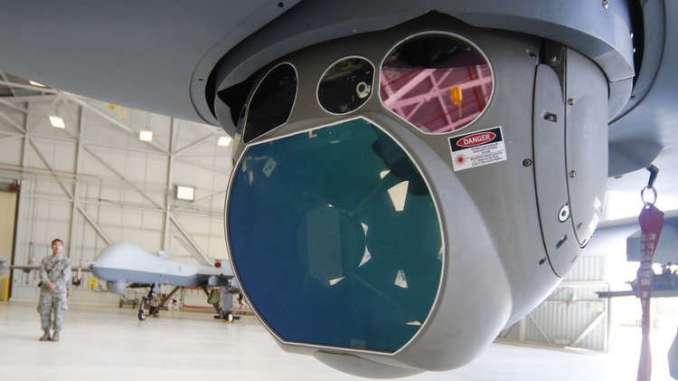 """درون """"MQ-9 Reaper"""" (صورة أرشيفية)"""