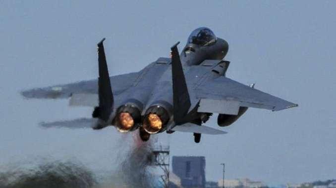 مقاتلة F-15 Eagle (صورة أرشيفية)
