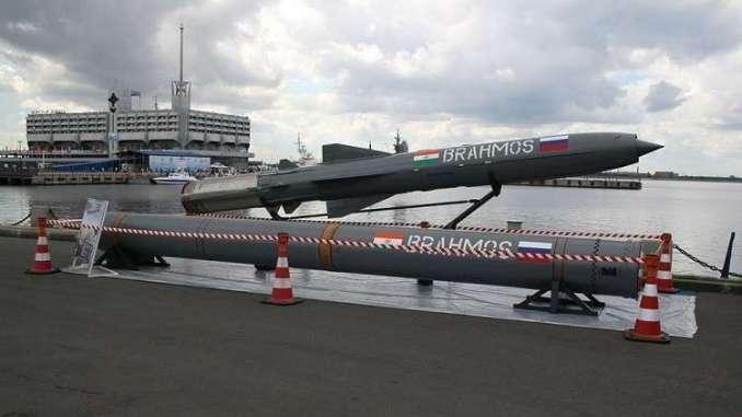 """صاروخ """"براموس"""" الهندي (روسيا اليوم - صورة أرشيفية)"""