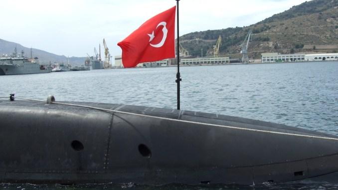 غواصة فئة 209 1400 التركية طراز TCG Anafartalar