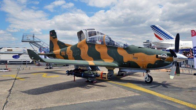 طائرة التدريب التركية من طراز هوركس من إنتاج شركة تاي (صورة أرشيفية)