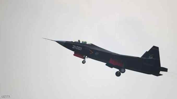 مقاتلة الشبح الصينية J-20