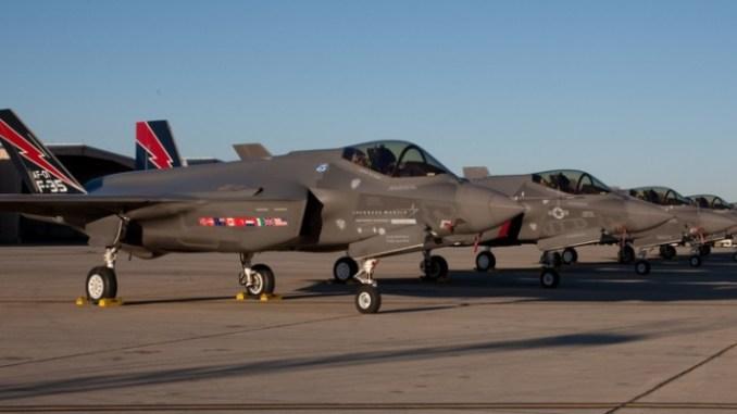 """مقاتلات """"إف-35"""""""