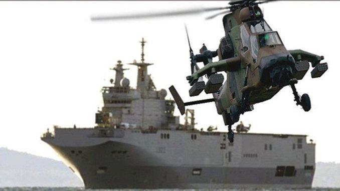 حاملة المروحيات ميسترال
