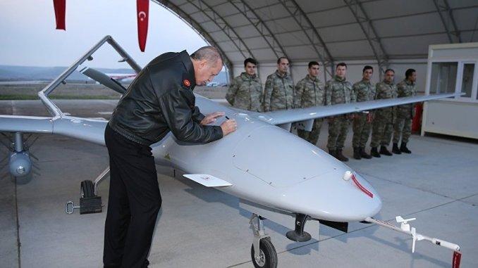 طائرة مسيّرة تركيّة