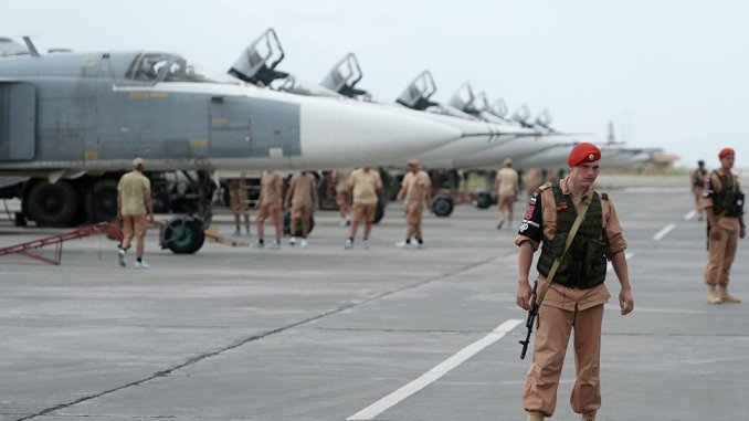 قاعدة حميميم العسكرية الروسية في سوريا (صورة أرشيفية)