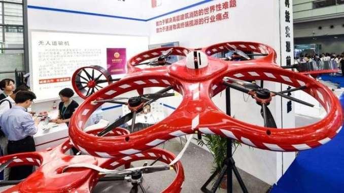 طائرات بدون طيار صينية