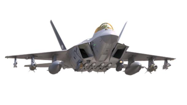 """طائرة KF-X مجهزة بأربعة صواريخ """"ميتيور"""" (Meteor) الفرنسية من إنتاج شركة MBDA"""