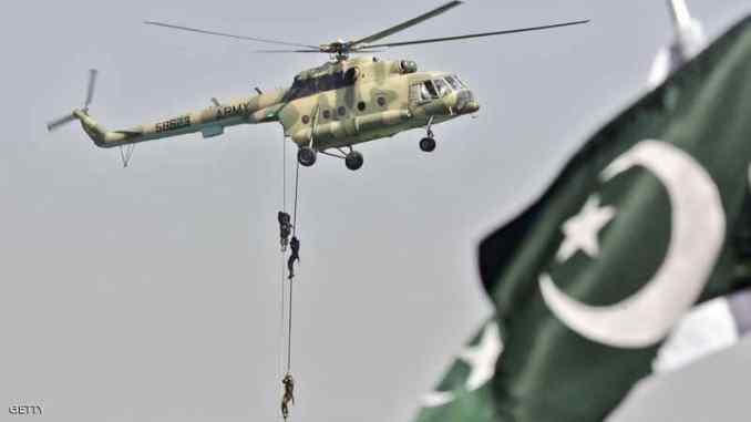 مروحية عسكرية باكستانية (صورة أرشيفية)