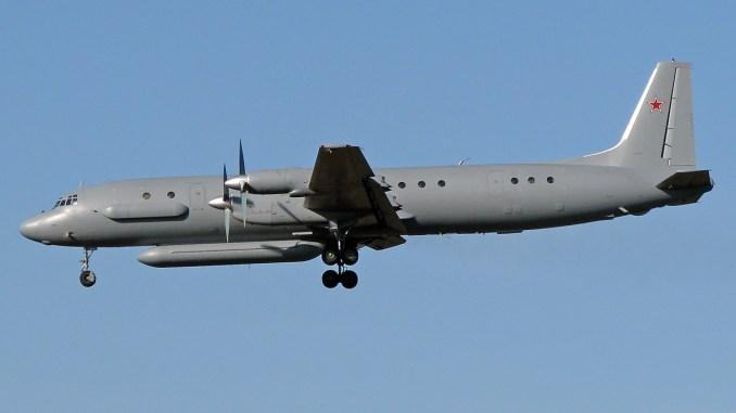 """طائرة """"إيل-20"""" تابعة للقوات الروسية (صورة أرشيفية)"""