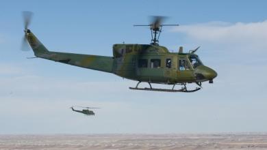 مروحية UH-1Ns Huey الأميركية