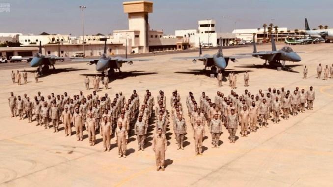 لقطة لتدريب عسكري سعودي سابق (صورة أرشيفية - وكالة واس)