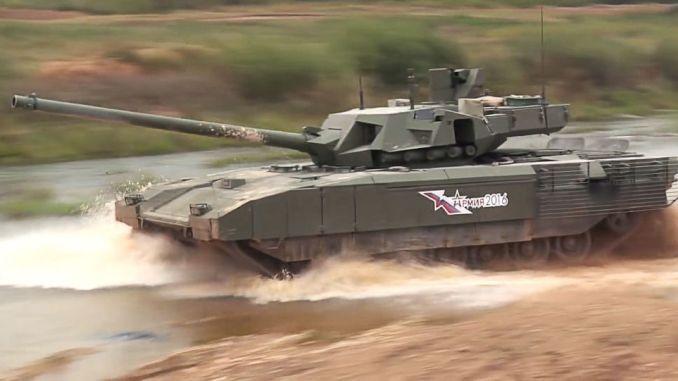 دبابة تي-14 أرماتا الروسية