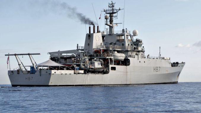 سفينة إستطلاع بريطانية (صورة أرشيفية)