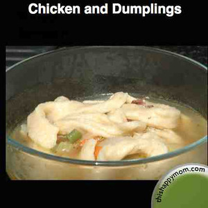 Chicken and Dumplings from thishappymom.com