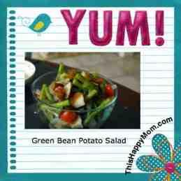 green bean potato salad from thishappymom.com