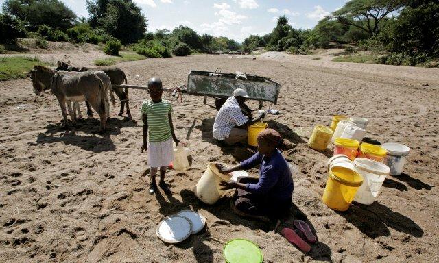Famine in Malawi